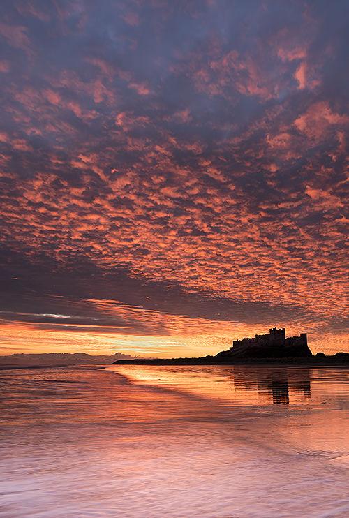 Sunrise Bamburgh