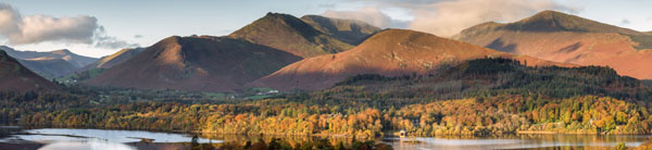 Coledale Fells from Castlehead