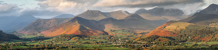 Coledale Fells from Carl Side