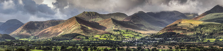 Coledale Fells from Milbbeck
