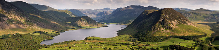 Crummock Valley from Low Fell