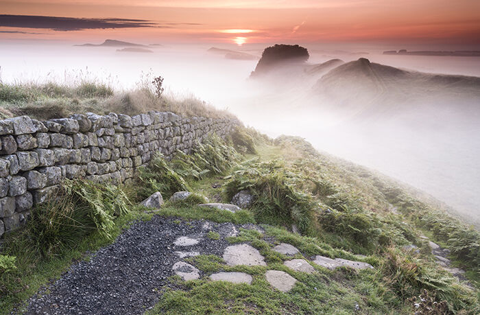 Cuddy's Crags Hadrian's Wall