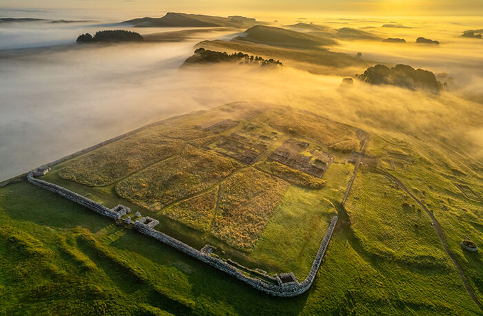 Housesteads Fort Hadrian's Wall