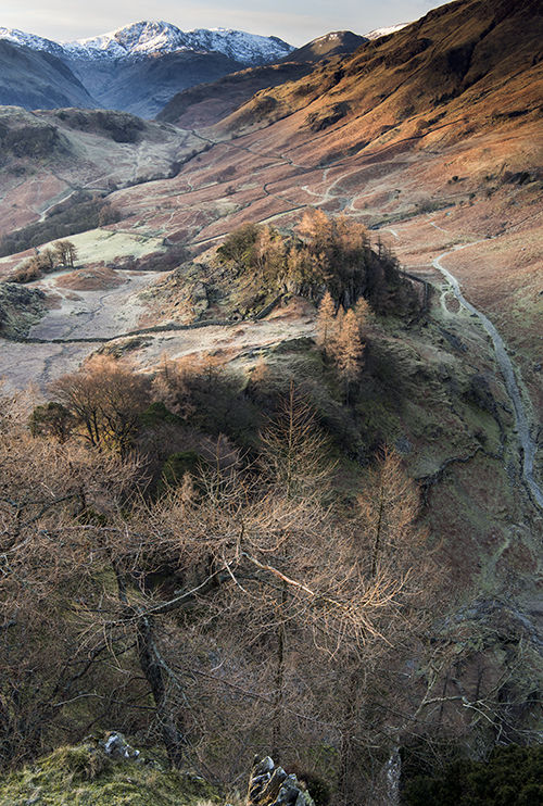 Great End from Castle Crag