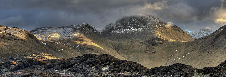 Great Gable from Hay Stacks