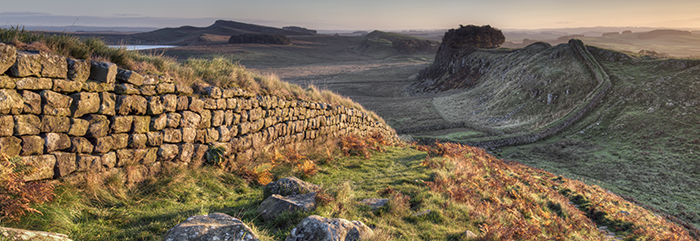 Hadrian's Wall from Cuddy's Crags