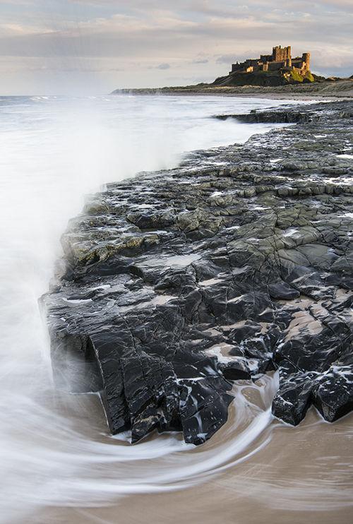 Incoming Tide Bamburgh