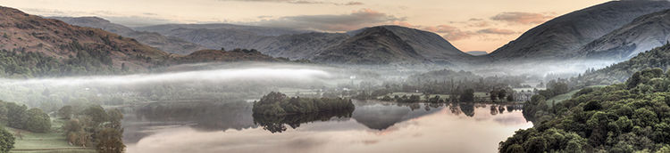 Morning Mist Grasmere