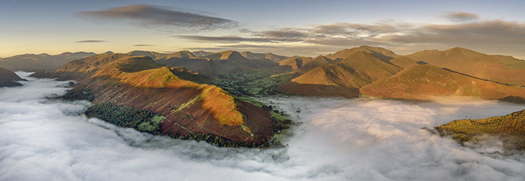 October Inversion Derwent Water