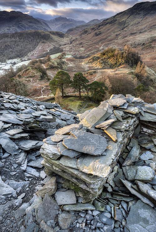 On Castle Crag