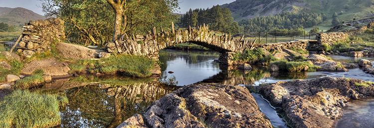 Reflections Slater Bridge Little Langdale