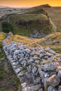 Sycamore Gap from Highshield Crags