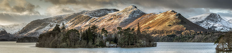 Winter Light Derwent Water