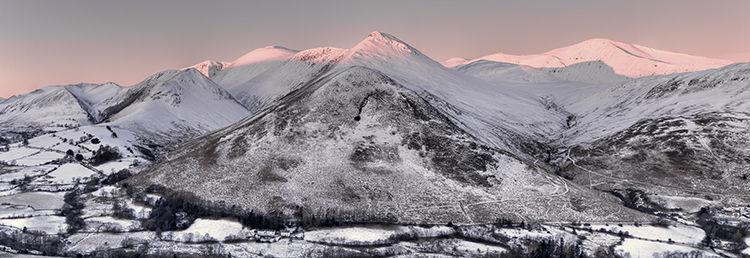 Winter Sunrise Causey Pike