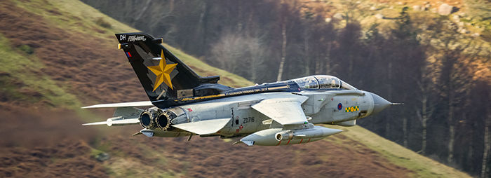 Tornado GR4 ZD716 31 Squadron RAF