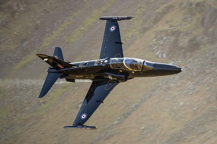 Hawk T.2 ZK028 25 Squadron RAF