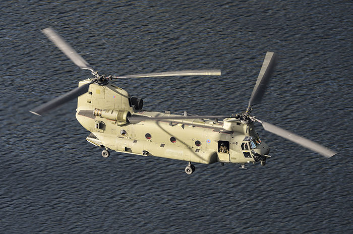 Chinook HC.6 ZK557 RAF