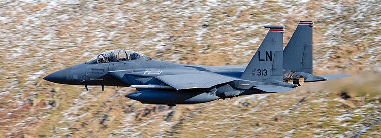 F-15E 91-313 USAF