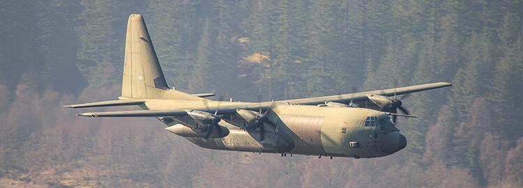Hercules C.4 ZH874 RAF