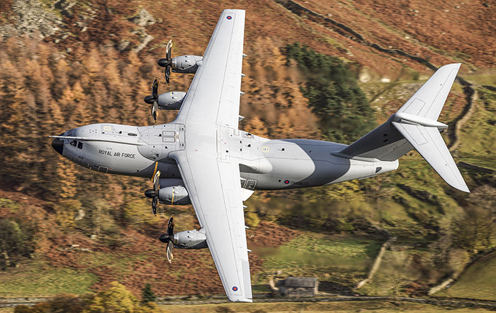 Atlas C1 ZM409 RAF