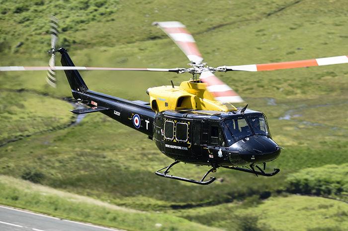Griffon HT.1 ZJ237 RAF