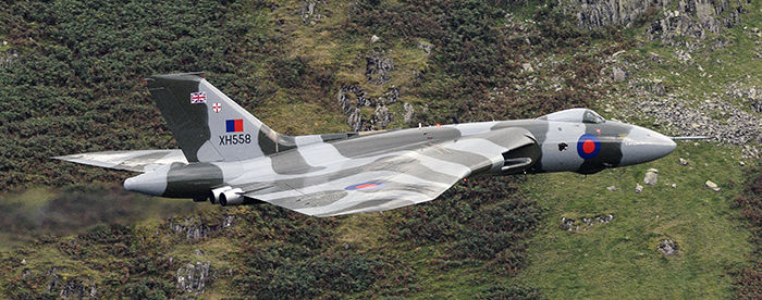 Vulcan XH558 Dunmail Raise 10 October 2015