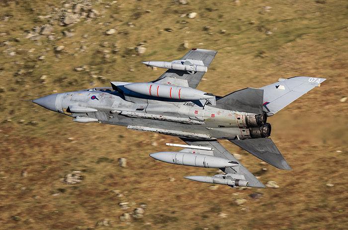 Tornado GR4 ZA612 RAF