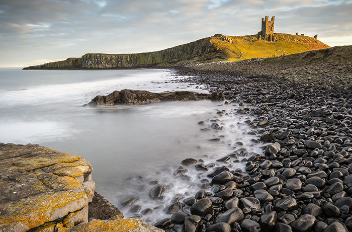 Dunstanburgh Castle from Saddle Rock