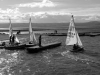 Sailing at West Kirkby