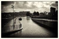 New Islington basin.