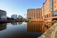 """Behind the """"Lazy S"""", Ashton Canal"""