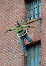 Aerial performer.