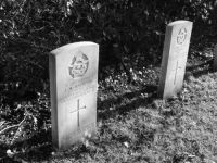 War graves, Byley.