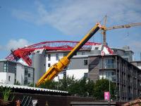 Crane down
