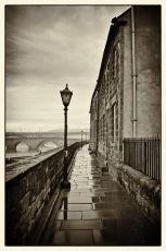 In the footsteps of LS Lowry, Berwick on Tweed.