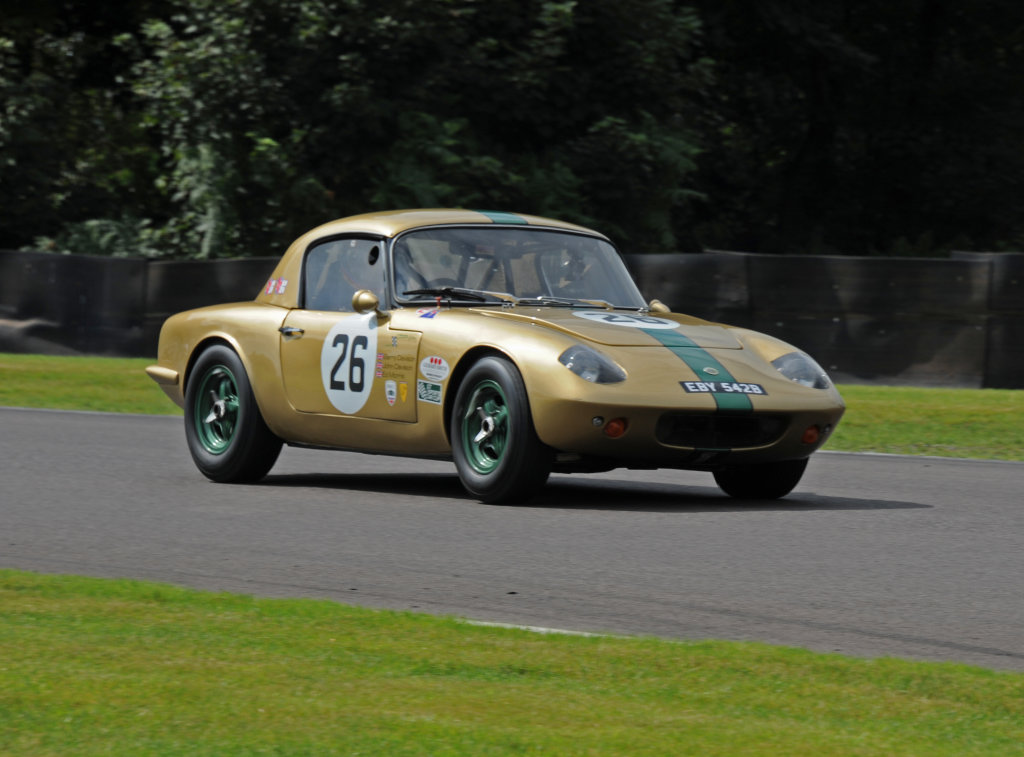 Lotus Elan gold bug (replica).