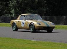 Lotus Elan gold bug (replica).