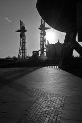 Winter sun at the docks.