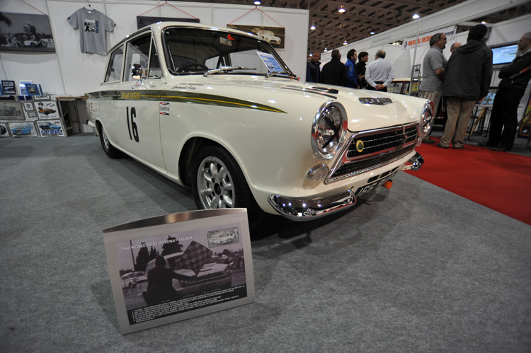 Jim Clark Lotus Cortina- the first!