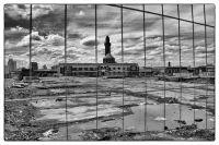 Behind bars; Strangeways.