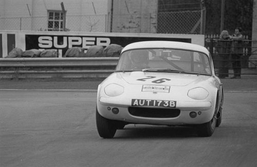 Lotus Elan Shapecraft, Oulton Park 1976