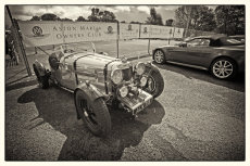 Aston Martin, young and old