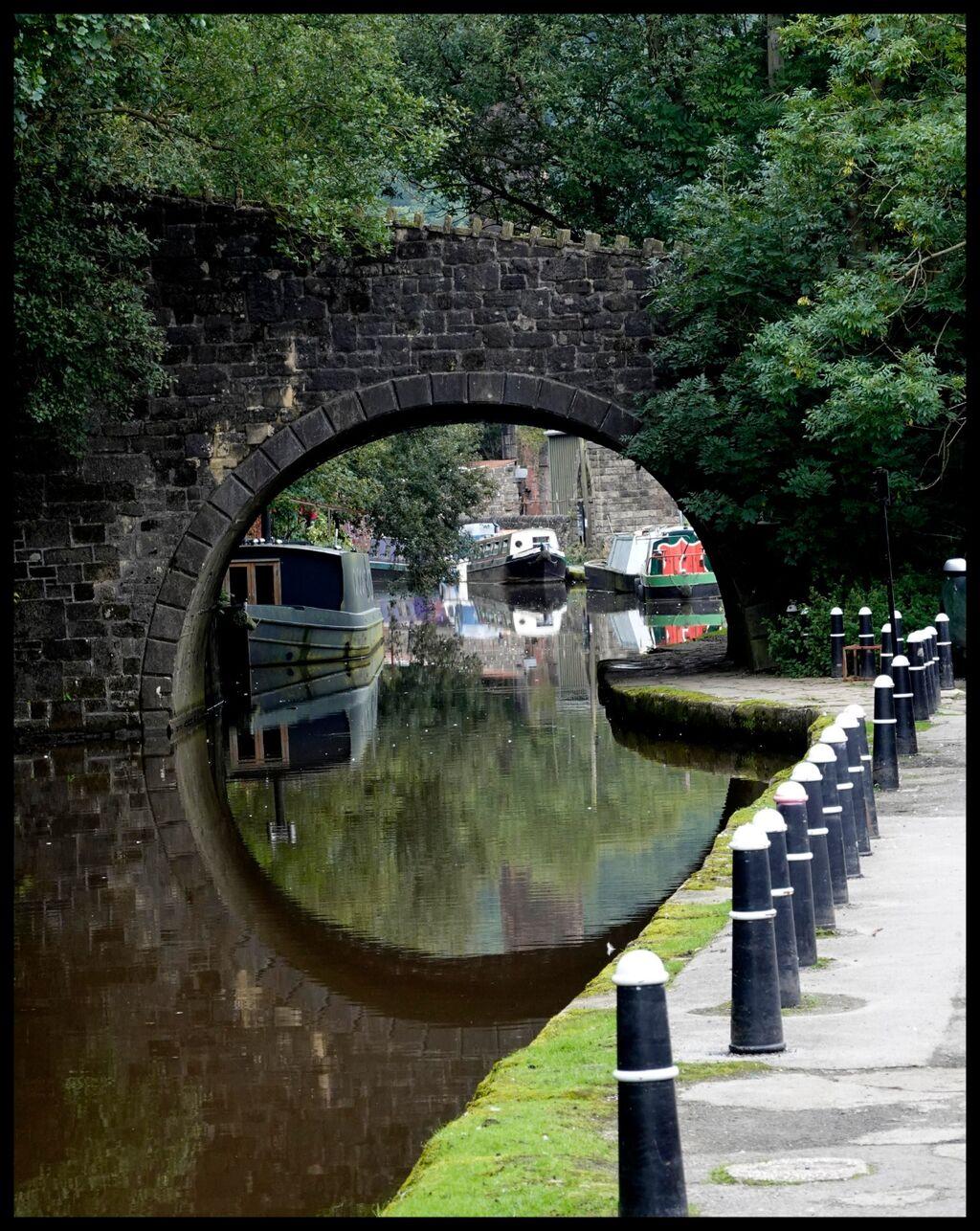 Squaring the circle; Hebden Bridge.