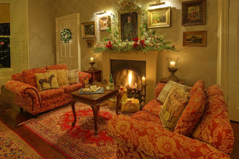 Christmas Time Interior Photograph