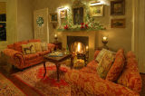 Christmas Time Interior Photograph