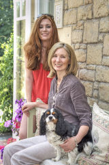 B&B owner Mandy and daughter Felicity