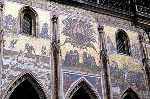 The Last Judgement - mosaic, St Vitus Cathedral