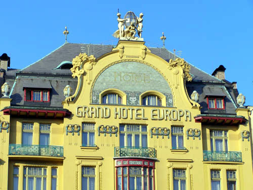 Grand Hotel Evropa, Prague