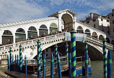 The Rialto Bridge, Venice, Italy