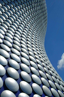Exterior of Selfridges building, Birmingham